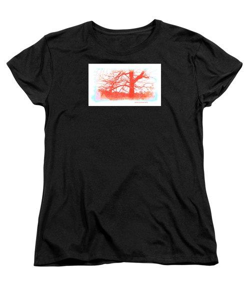 Women's T-Shirt (Standard Cut) featuring the photograph South Texas Impression by Carolina Liechtenstein