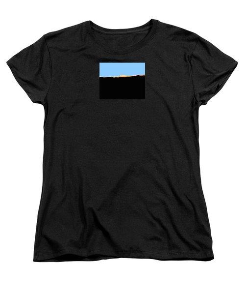 Southern San Jacintos' East End Women's T-Shirt (Standard Cut) by Stan  Magnan