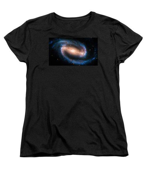 Space Image Barred Spiral Galaxy Ngc 1300 Women's T-Shirt (Standard Cut)