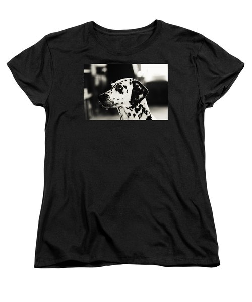 Women's T-Shirt (Standard Cut) featuring the photograph Special Glance For You by Jenny Rainbow