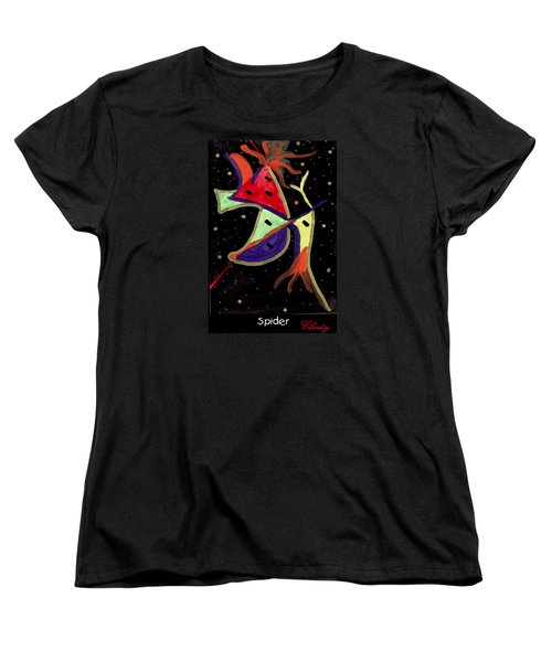 Spider Women's T-Shirt (Standard Cut) by Clarity Artists