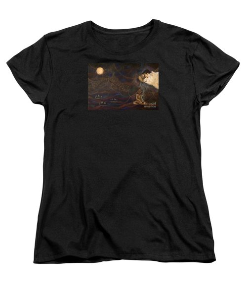 Spirit Bear Women's T-Shirt (Standard Cut) by Deborha Kerr