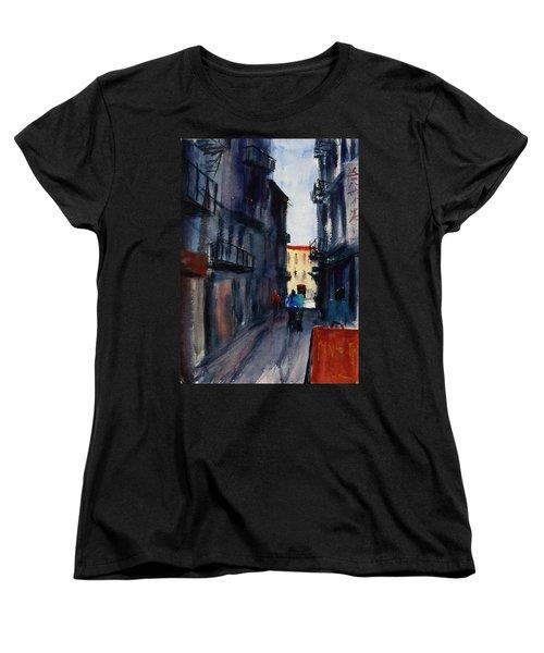 spofford Street5 Women's T-Shirt (Standard Cut) by Tom Simmons