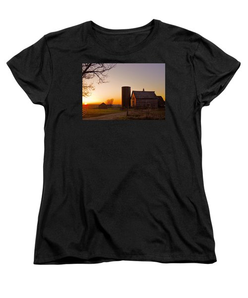 Spring At Birch Barn 2 Women's T-Shirt (Standard Cut) by Bonfire Photography
