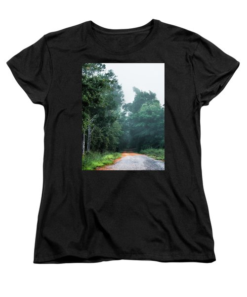 Women's T-Shirt (Standard Cut) featuring the photograph Spring Dirt Road by Shelby Young