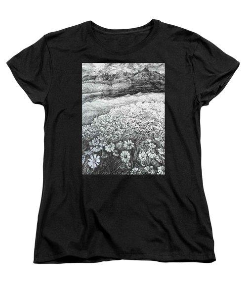 Spring Flowers Women's T-Shirt (Standard Cut) by Anna  Duyunova