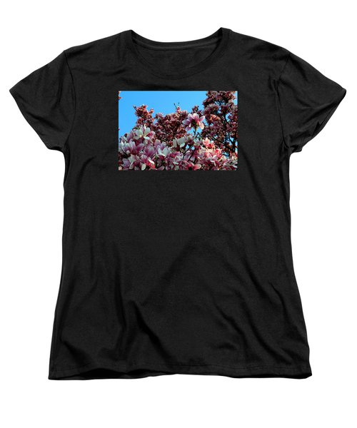 Women's T-Shirt (Standard Cut) featuring the photograph Spring Is Here by Dorin Adrian Berbier