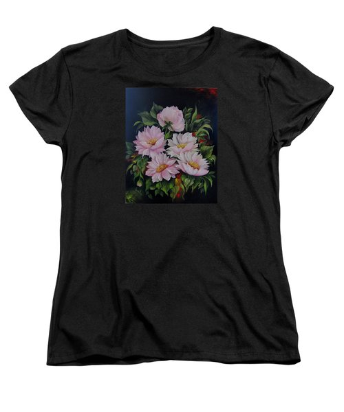Spring Messangers Women's T-Shirt (Standard Cut) by Katia Aho