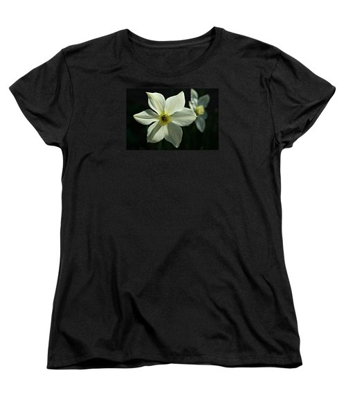 Spring Perennial Women's T-Shirt (Standard Cut) by Barbara S Nickerson