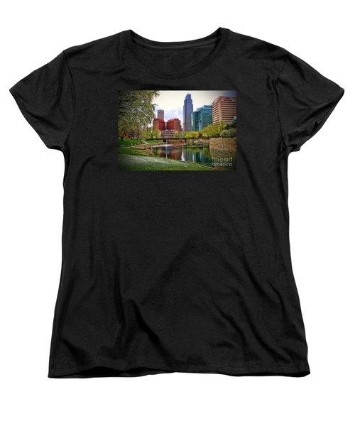 Springtime In Omaha Women's T-Shirt (Standard Cut) by Elizabeth Winter