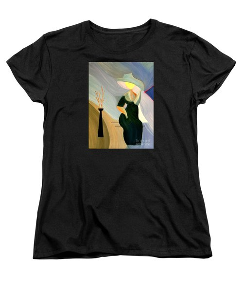 Women's T-Shirt (Standard Cut) featuring the painting Springtime In Paris by Bill OConnor