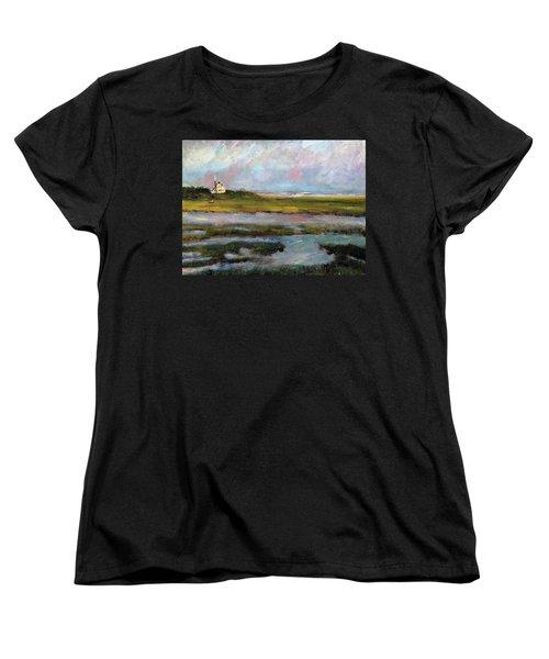 Springtime In The Marsh Women's T-Shirt (Standard Cut) by Michael Helfen