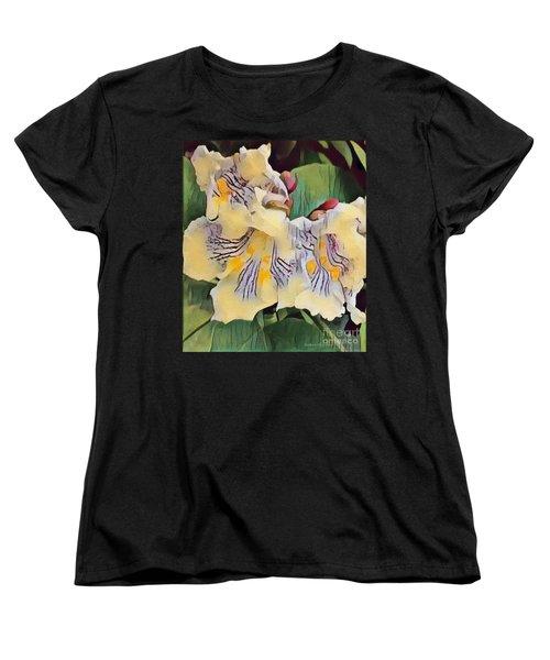 Spun Gold Women's T-Shirt (Standard Cut) by Kathie Chicoine