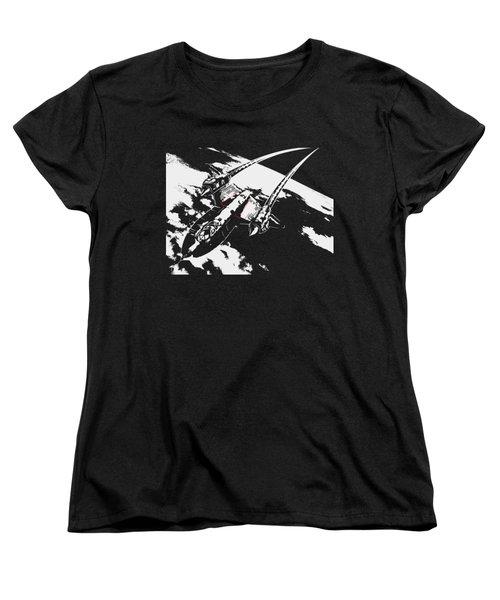 Sr-71 Flying High Women's T-Shirt (Standard Cut)