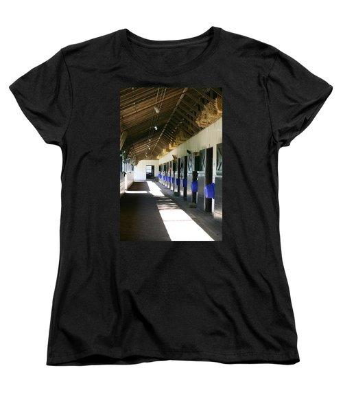 Stable Ready Women's T-Shirt (Standard Cut) by Cathy Harper