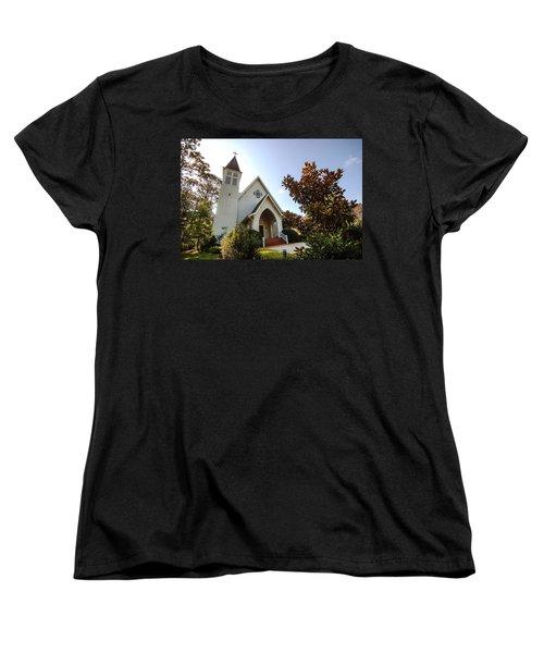 Women's T-Shirt (Standard Cut) featuring the photograph St. James V4 Fairhope Al by Michael Thomas