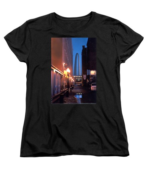 Women's T-Shirt (Standard Cut) featuring the photograph St. Louis Arch by Steve Karol