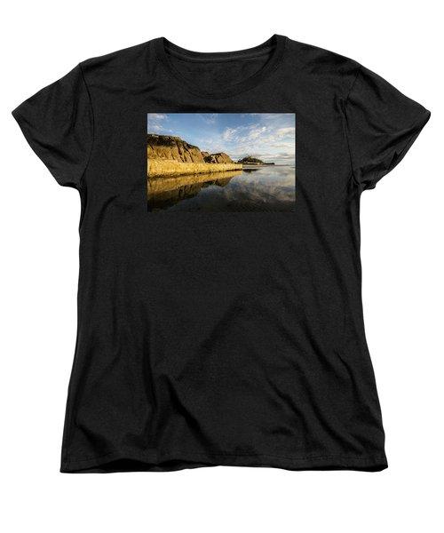 St Michaels Mount Cornwall  Women's T-Shirt (Standard Cut) by Ken Brannen