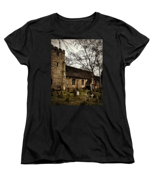 Women's T-Shirt (Standard Cut) featuring the photograph St. Thomas The Martyr by Persephone Artworks