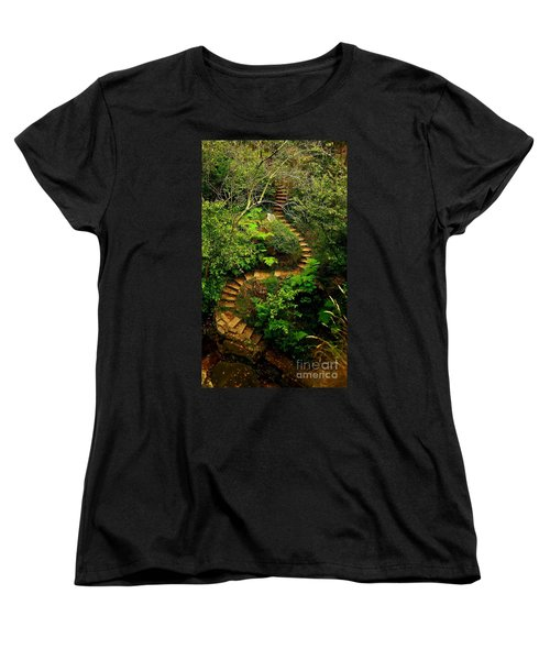 Stairway To Heaven Women's T-Shirt (Standard Cut) by Blair Stuart