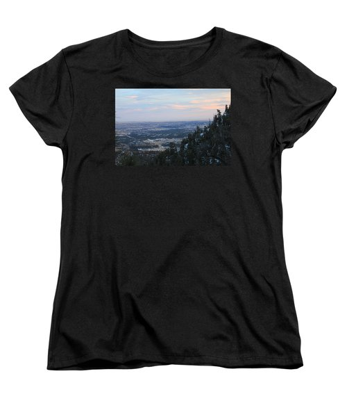 Stanley Canyon View Women's T-Shirt (Standard Cut) by Christin Brodie