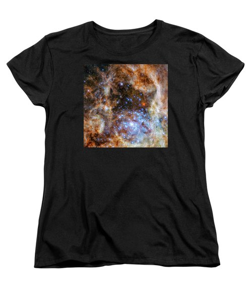 Women's T-Shirt (Standard Cut) featuring the photograph Star Cluster R136 by Marco Oliveira