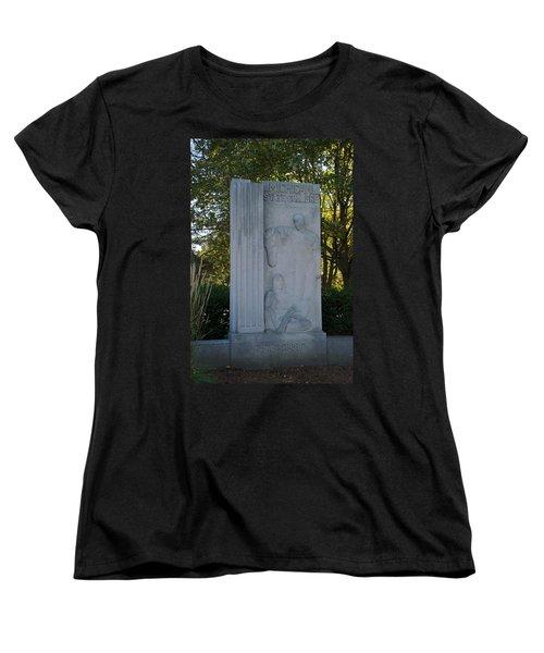 Statue Women's T-Shirt (Standard Cut) by Joseph Yarbrough