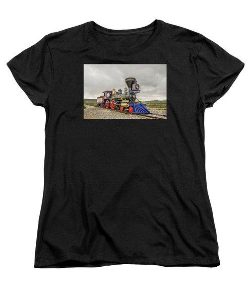 Steam Locomotive Jupiter Women's T-Shirt (Standard Cut) by Sue Smith