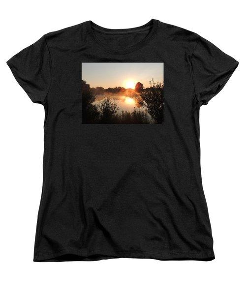 Steamy Morning Women's T-Shirt (Standard Cut)