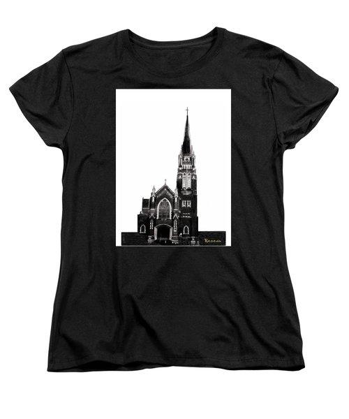 Steeple Chase 1 Women's T-Shirt (Standard Cut) by Sadie Reneau