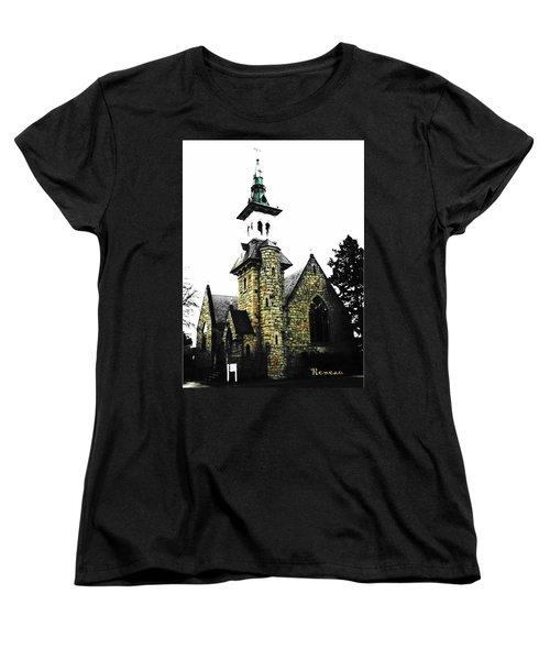 Steeple Chase 2 Women's T-Shirt (Standard Cut) by Sadie Reneau