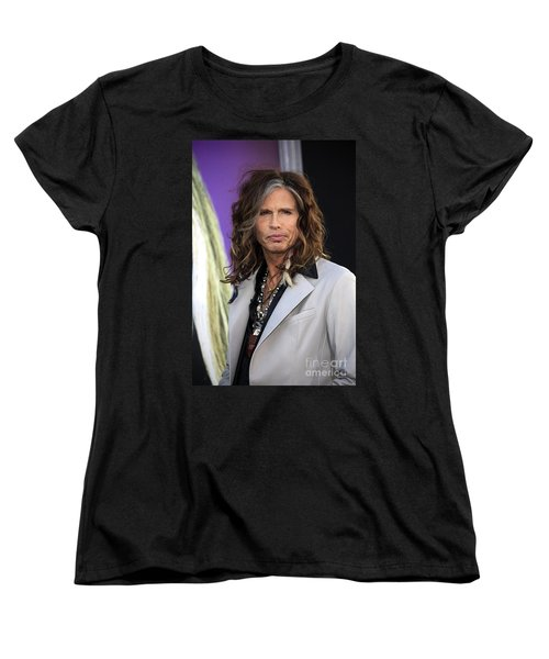 Steven Tyler Women's T-Shirt (Standard Cut) by Nina Prommer