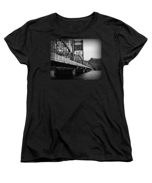 Stillwater Bridge  Women's T-Shirt (Standard Cut) by Perry Webster