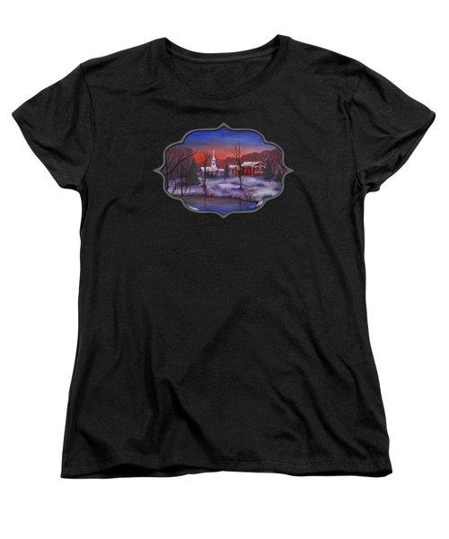 Stowe - Vermont Women's T-Shirt (Standard Cut) by Anastasiya Malakhova