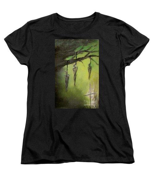 Strange Fruit Women's T-Shirt (Standard Cut) by Alys Caviness-Gober