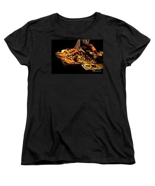 Women's T-Shirt (Standard Cut) featuring the photograph Street Meat by Al Bourassa