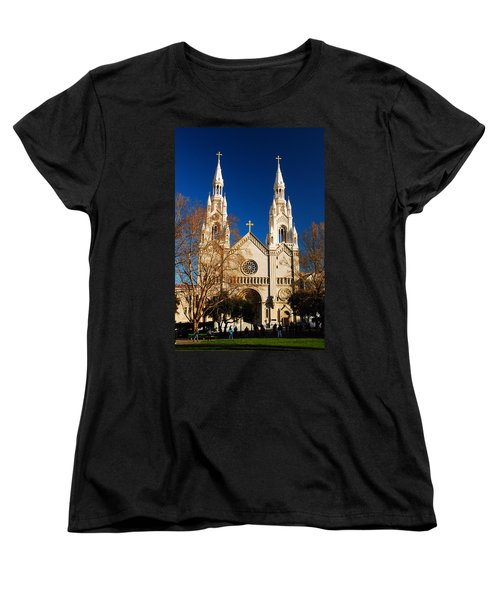 Sts Peter And Paul Women's T-Shirt (Standard Cut) by James Kirkikis