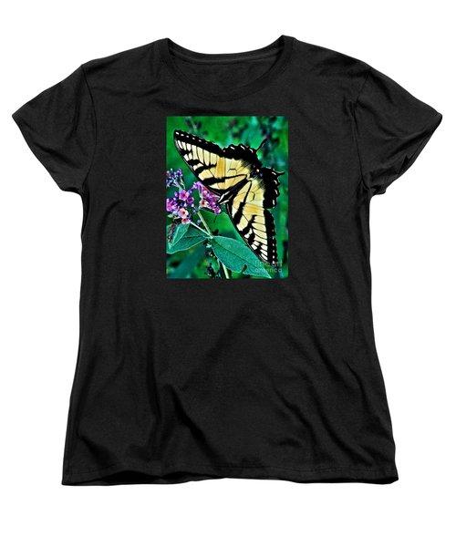 Stunning Monarch Women's T-Shirt (Standard Cut) by Christy Ricafrente