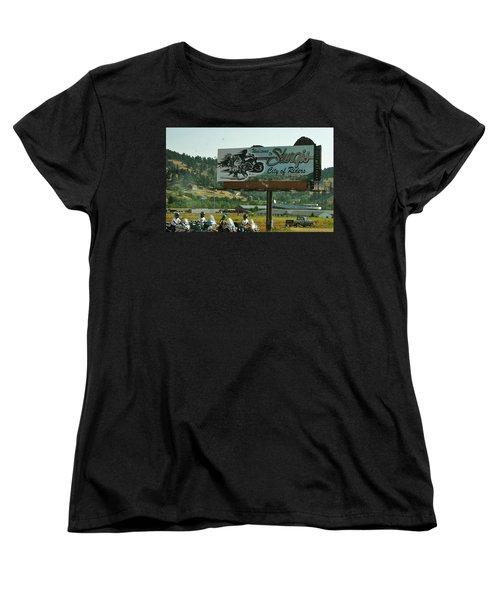 Sturgis City Of Riders Women's T-Shirt (Standard Cut)