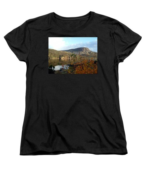 Sugarloaf Hill In Autumn Women's T-Shirt (Standard Cut) by Barbara Griffin