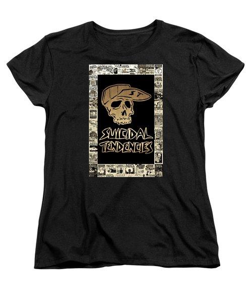 Suicidal Tendencies 2 Women's T-Shirt (Standard Cut) by Michael Bergman