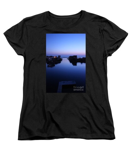 Women's T-Shirt (Standard Cut) featuring the photograph Summer Avon Evening by Tony Cooper