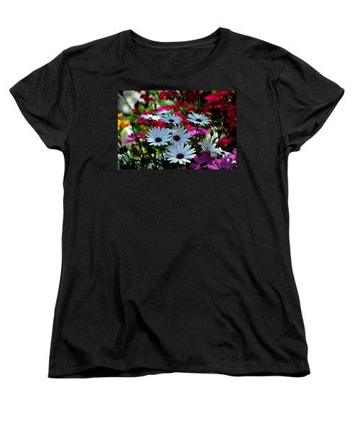 Summer Flowers Women's T-Shirt (Standard Cut) by Robert Meanor