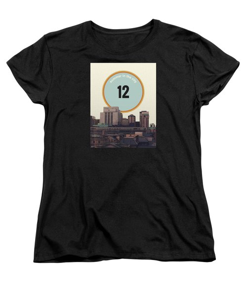 Women's T-Shirt (Standard Cut) featuring the photograph Summer In The City by Phil Perkins