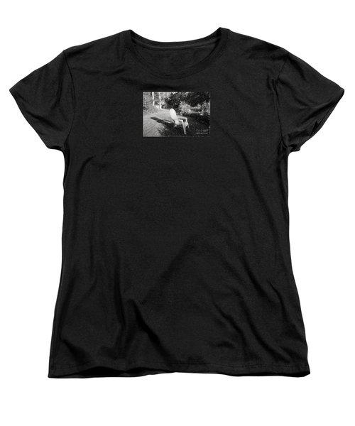 Summertime Women's T-Shirt (Standard Cut) by Mim White