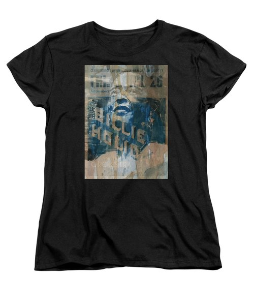 Summertime Women's T-Shirt (Standard Cut) by Paul Lovering