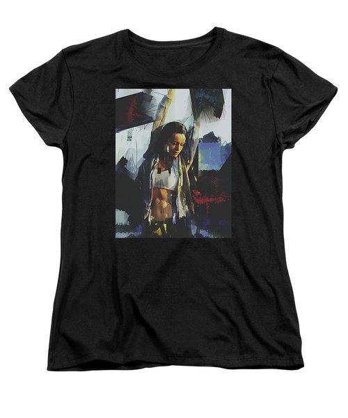 Summit Women's T-Shirt (Standard Cut) by Galen Valle