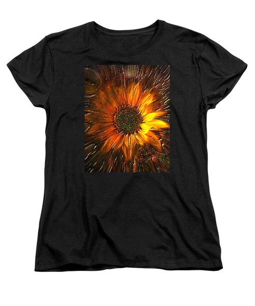 Sun Burst Women's T-Shirt (Standard Cut) by Kevin Caudill