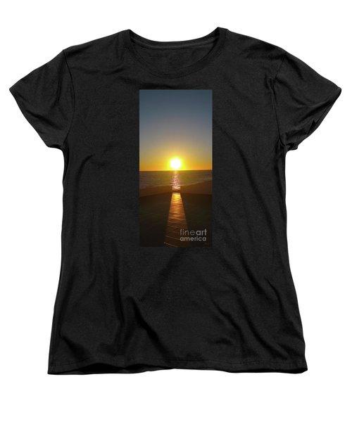 Sun Gazing Women's T-Shirt (Standard Cut) by Gem S Visionary