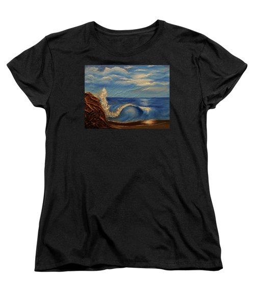 Sun Over The Ocean Women's T-Shirt (Standard Cut)